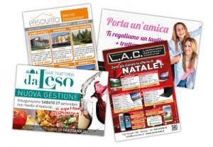 grafica e stampa volantini da visita verona